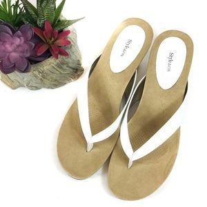 NEW Style & Co. Chicklet Wedge Sandals Us 11